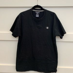 Champion single logo crew neck t shirt